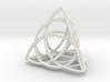 Celtic Knot Tetrahedron 3d printed