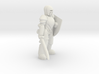 General Paladin Mini (Sword and Shield) 3d printed