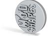 Modshape Emblem 22.225 MM 3d printed