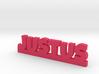 JUSTUS Lucky 3d printed