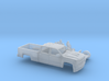 1/87 2016/17 Chevrolet Silverado Long Bed Two Piec 3d printed