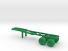 1/200 Scale M126 Semitrailer Chassis 3d printed