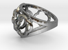 4-leaf Alhambra Ring 3d printed