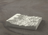 4'' Grand Canyon, Arizona, USA, Sandstone 3d printed Radiance rendering of model, looking toward the west.
