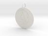 Virgo Keychain 3d printed