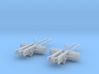 1-32 PT Boat Cal 50 M2 Early Mount Set1 3d printed
