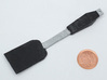 BJD Spatula 3d printed Printed in white strong and flexible and painted with acrylics