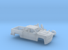 1/87 2016/17 Chevrolet Silverado EXT Cab Short Bed 3d printed