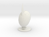 Digimon Digi-Egg / Armor of Courage 3d printed Digi Egg of Courage in White