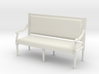 1:48 Louis XVI Sofa Settee with Straight Back 3d printed