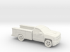 1/87 2016/17 Chevrolet Silverado Single Cab Utilit 3d printed