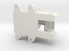 FrSky X8R Receiver Antenna Mount 4-Holes 22mm 3d printed
