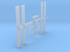 1/1400 NASA International Space Station ISS 3d printed