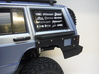 1:10 Scale Jeep Cherokee XJ Rear Quarter Armor 3d printed