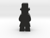 Game Piece, Man In Top Hat 3d printed