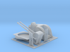 Twin Bofors 120mm Turret and rocket launchers 1/96 3d printed