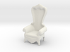 Printle Thing Baroque Chair 1/24 3d printed