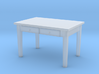 H0 Kitchen Table - 1:87 3d printed