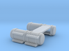 4 Door Fuel Tanks With Steps 1-87 HO Scale F.U.D. 3d printed