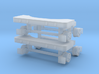 Hi Rail Set 2 Pack 1-87 HO Scale 3d printed