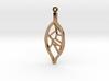 Voronoi Teak Leaf Pendant 3d printed Voronoi Teak Leaf Pendant