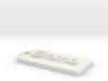 Name Tag Emma Key chain Fob Zipper Tag 2x1x02in 3d printed