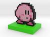 Kirby Pixel Art 3d printed
