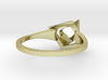 Female Ring-Crystal G 3d printed