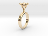 Ring Byzantinium 3d printed
