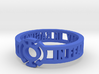 Blue Lantern Oath Ring 3d printed