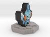 Pokemon Mudkip Pixel Art 3d printed
