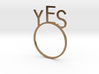 YES [LetteRing© Serie] 3d printed