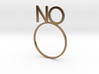 NO [LetteRing© Serie] 3d printed