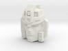 Jetstrike Robot Face (Titans Return) 3d printed