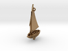 Small Old Sailing Boat Pendant 3d printed