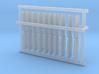 1/96 DKM Port Rectangle V2 Set 3d printed