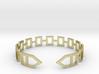 2D Houses  Bracelet Medium Size D=65mm 3d printed