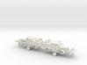 German Faun ZRS Dual Purpose Tractor 1/144 3d printed