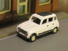 Renault 4 Hatchback 1:160 scale (Lot of 2 cars) 3d printed This is how it can look after a little paint.