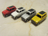 Renault 4 Hatchback 1:160 scale (Lot of 2 cars) 3d printed 2 cars only in this lot, Paint not included