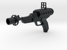 Laser Pistol (As seen on TV) - 1:6 Scale 3d printed