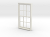 Window, 40in X 74in, 12 Panes, 1/32 Scale 3d printed