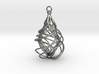 Sabella Swirl Necklace 3d printed
