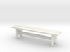 Bench, Simple Wooden, 1/32 Scale 3d printed
