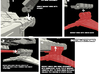 XG-1 Star Wing Assault Gunboat 1/270 3d printed simple construction steps