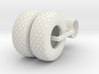 1/64 24.5-32 Diamond Tire And Wheel Assy 3d printed