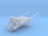 18th Century Wheelbarrow 1/43.5 3d printed
