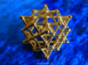 64 Tetrahedron Grid - Surface 3d printed