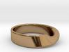 Moebius Strip ring 3d printed