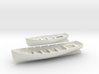 1/32 DKM 8m & 6m Long Boats Set 3d printed